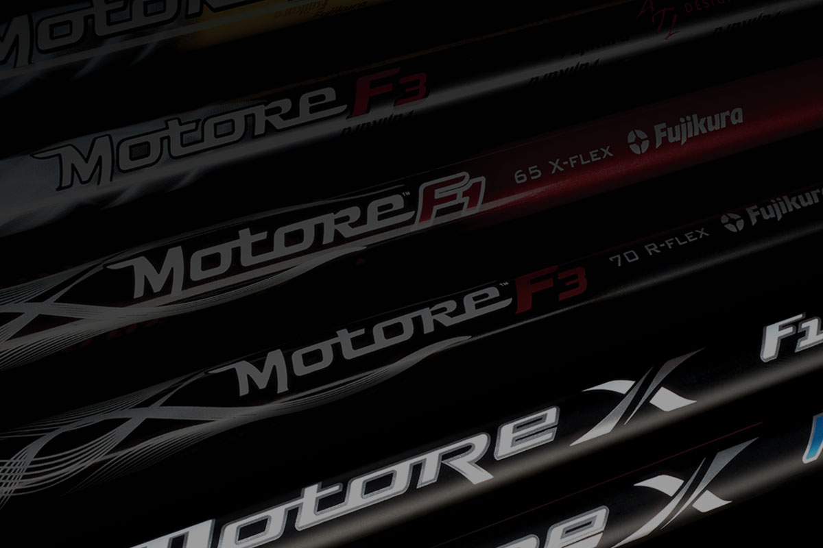 Fujikura Motore X Golf Shafts